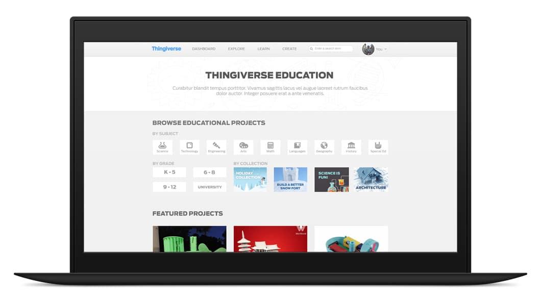 Thingiverse Education 1